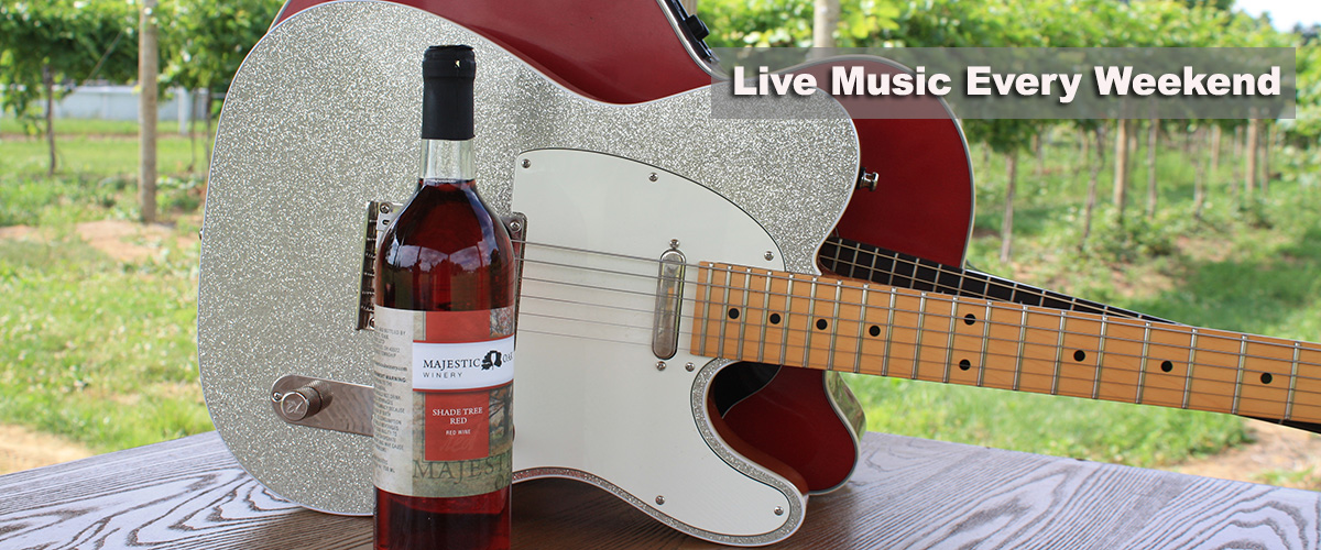 Live Music Majestic Oak Winery